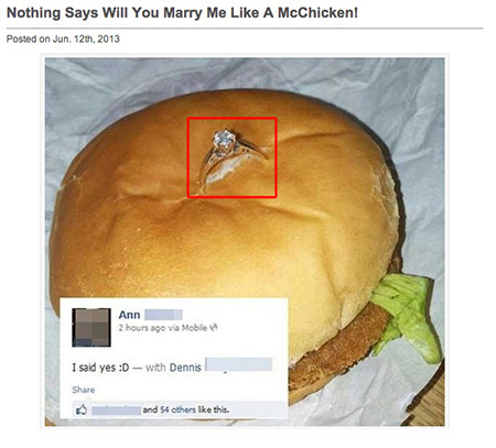 McDonalds Marriage