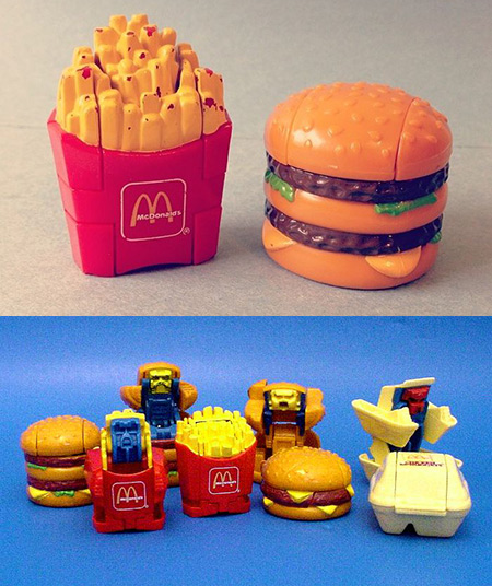 McDonalds Transformers Changeables
