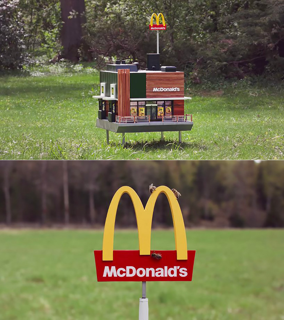 McHive World's Smallest McDonalds
