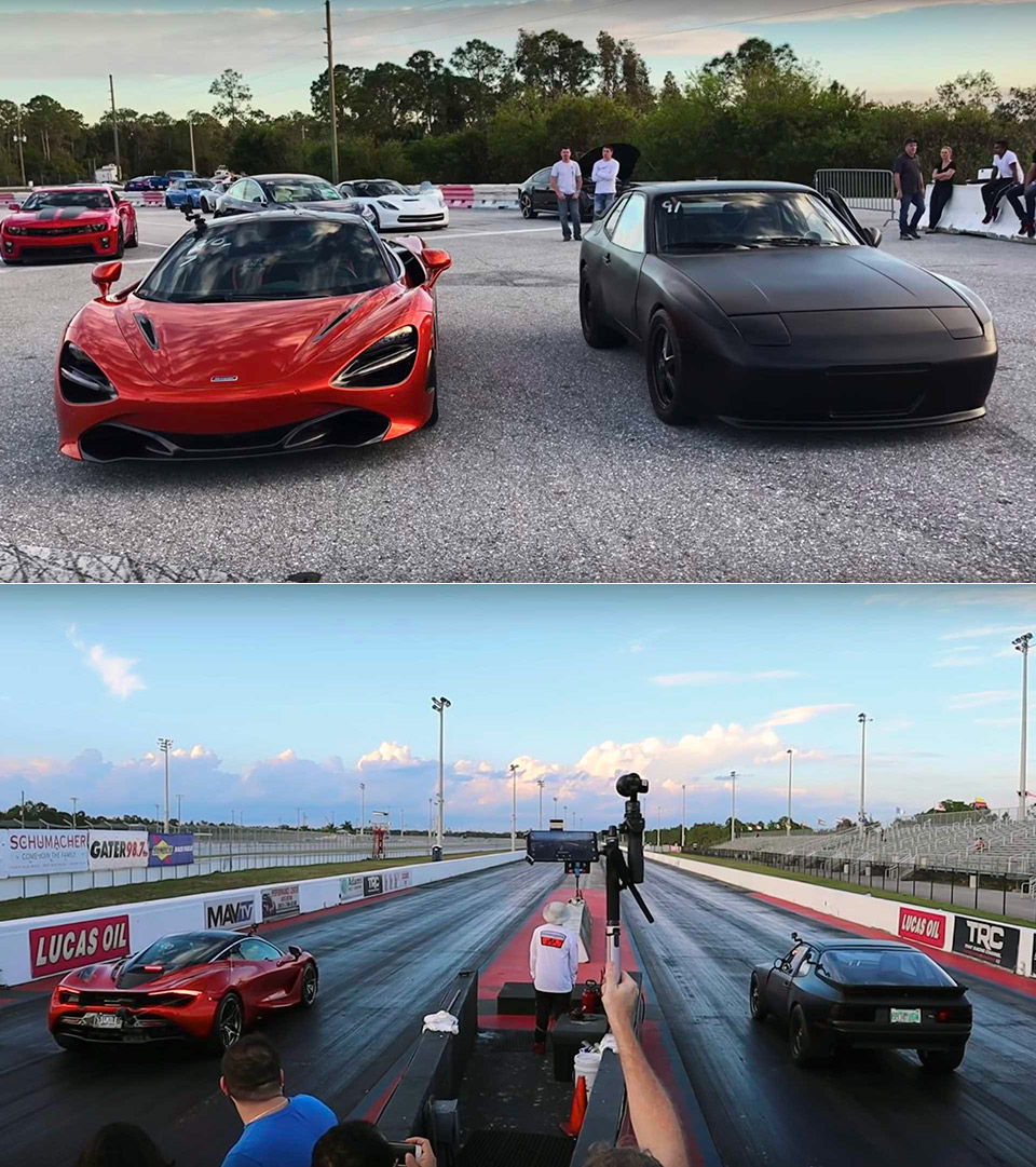 McLaren 720S vs. Electric Porsche