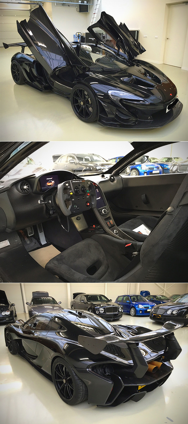 All Black McLaren P1 GT R Touted As Real Batmobile, Equipped With  Twin Turbo 986HP Engine