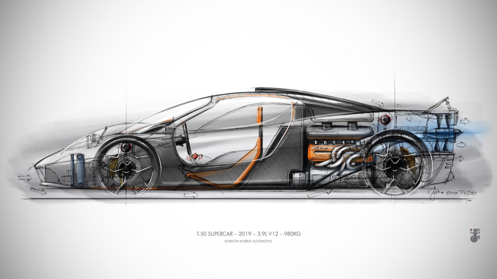 McLaren F1 Gordon Murray GMA T.50