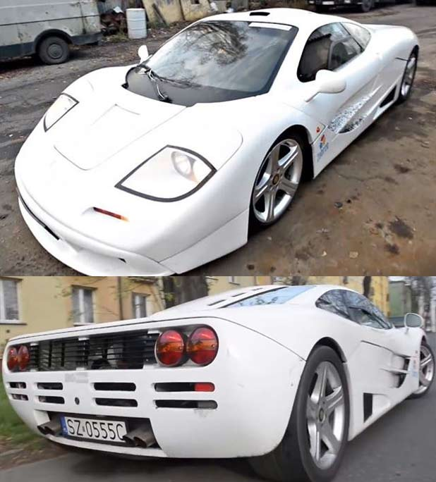 auto enthusiast can 39 t afford real mclaren f1 builds one from scratch techeblog. Black Bedroom Furniture Sets. Home Design Ideas