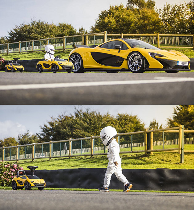 McLaren P1 Foot To Floor Edition