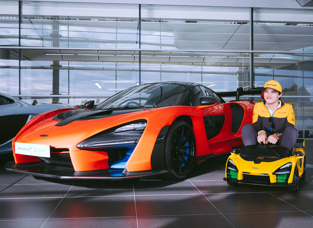 McLaren Senna Ride-On Mini EV