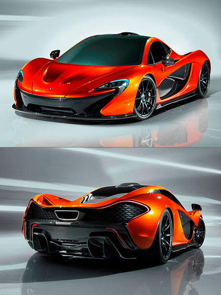 McLaren P1 Boasts 963HP Engine With F1 Inspired KERS System