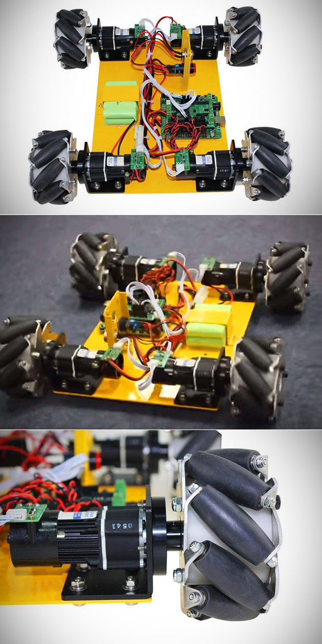 4-Wheel Learning Robot