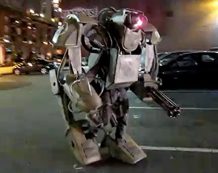 Роботы мехи своими руками 169