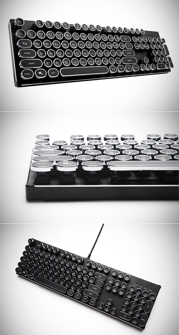 Mechanical Steampunk Keyboard