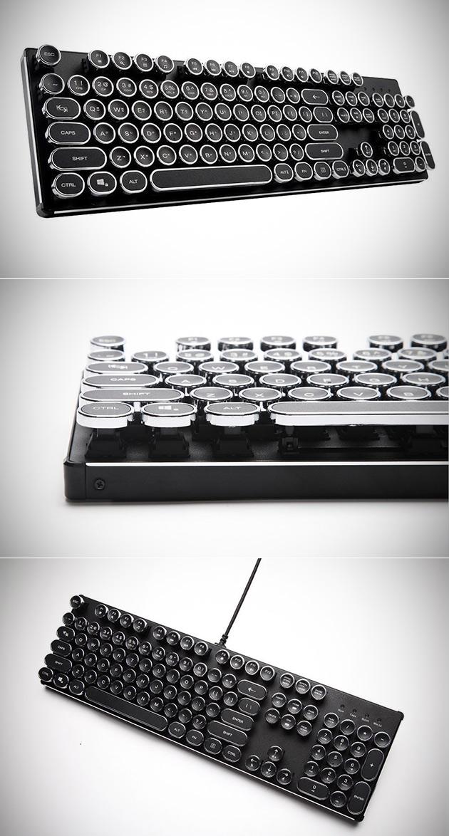 Mechanical Steampunk Keyboard