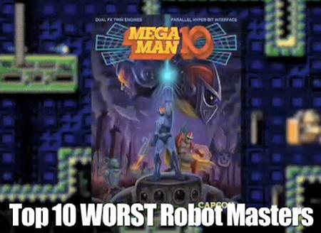 Top 10 Worst Mega Man Bosses of All-Time – TechEBlog