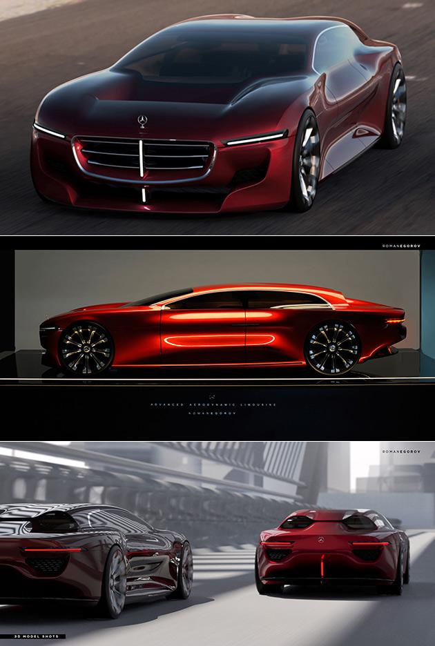 Mercedes Aerodynamic Limousine