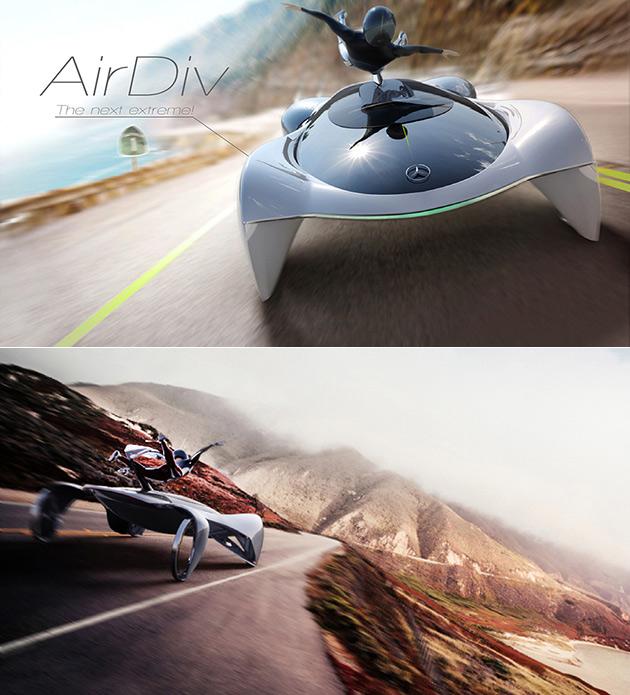 Mercedes AirDiv