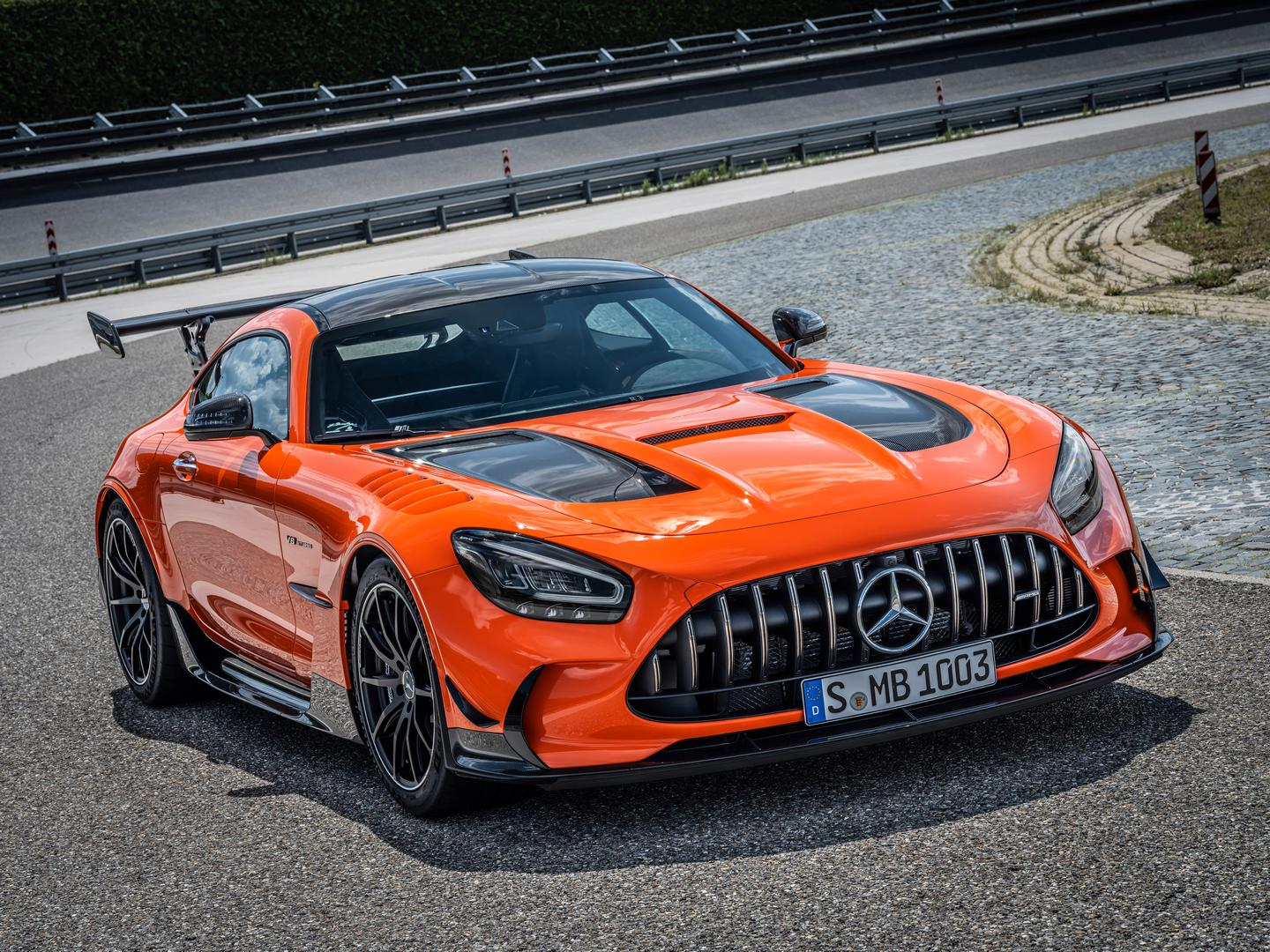 Mercedes-AMG GT Black Series Nurburgring Lap Record