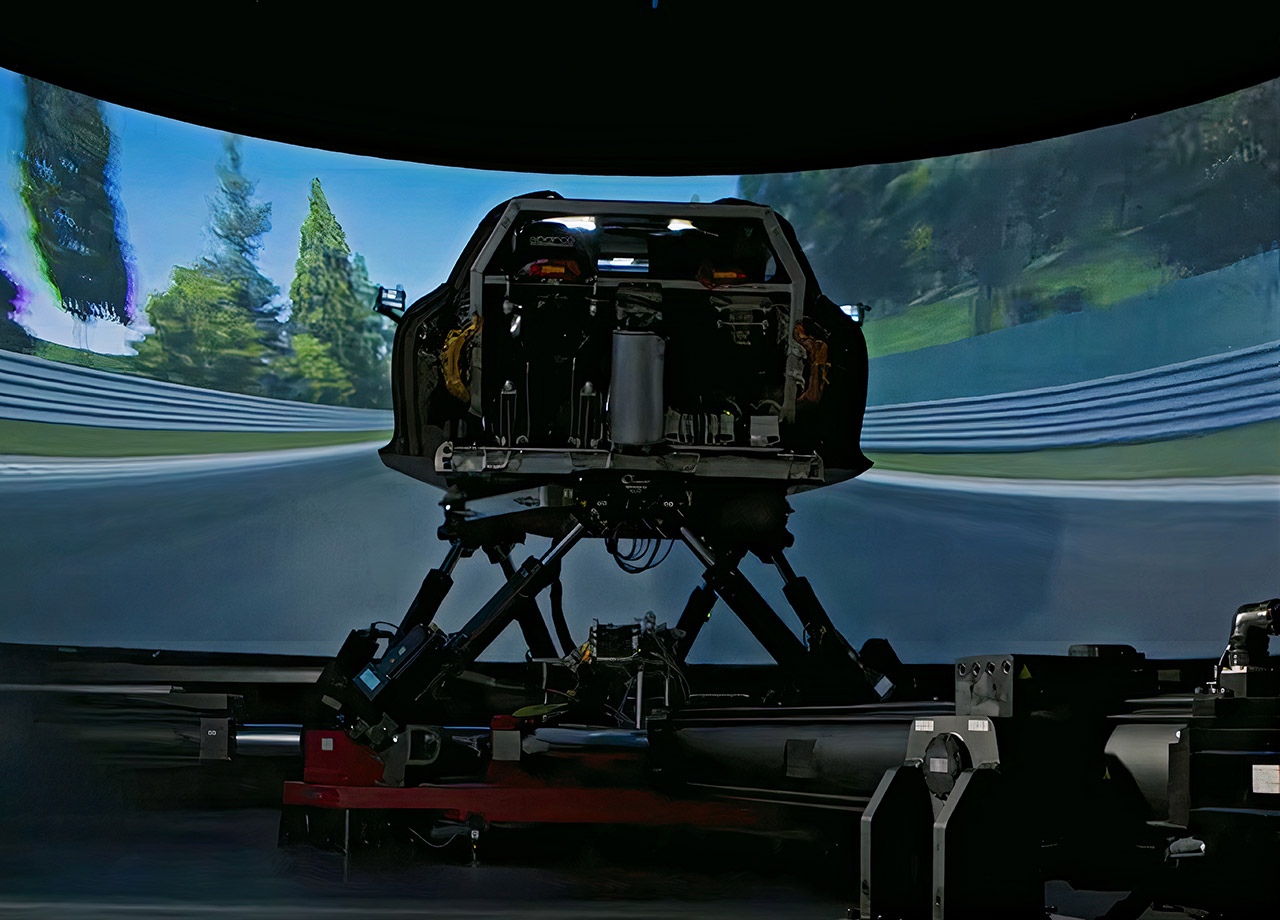 Mercedes-AMG Project One Driving Simulator