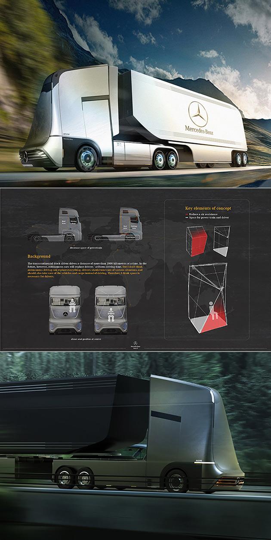 Mercedes-Benz Euro X Semi-Autonomous Truck