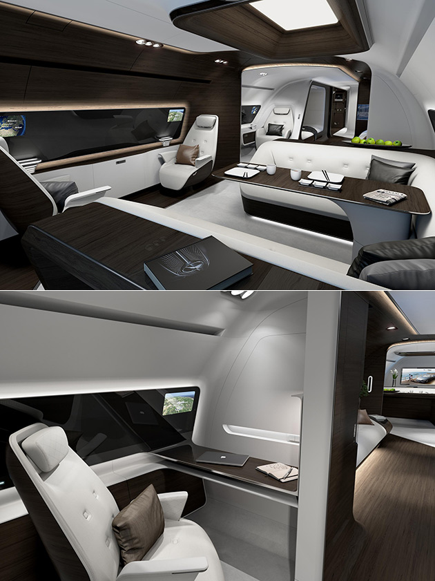 Mercedes-Benz Private Jet