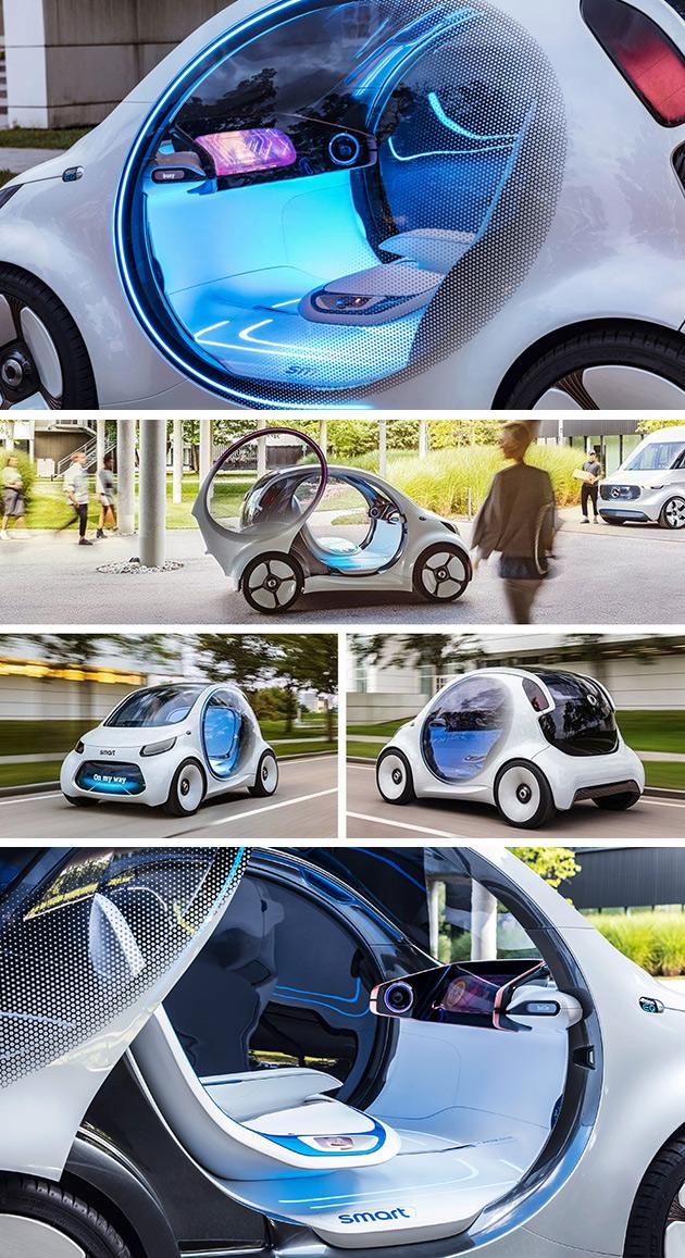 Mercedes-Benz Smart Vision EQ