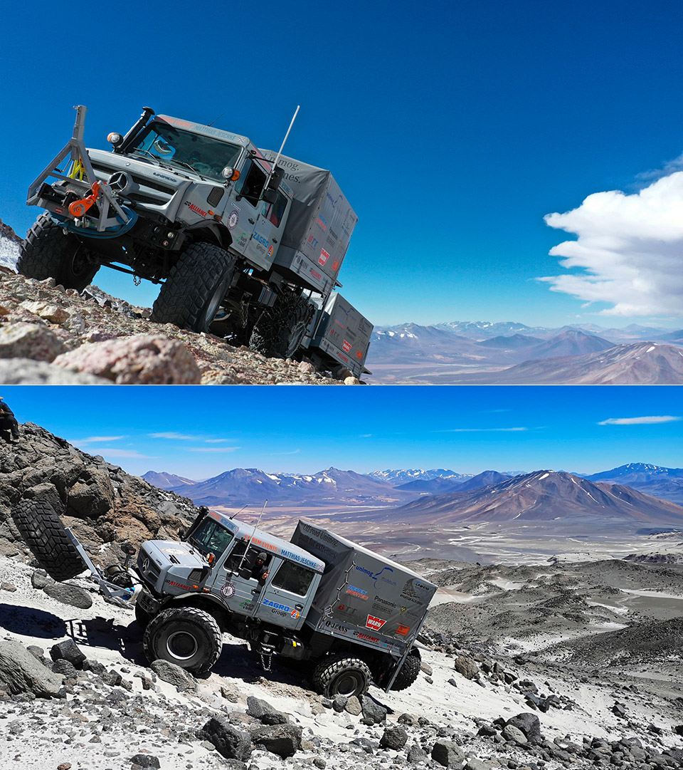Mercedes-Benz Unimog U 5023 Altitude Record