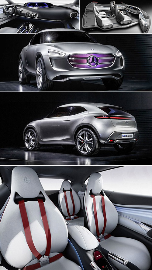Futuristic mercedes benz vision g code has multi voltaic for Mercedes benz bluetooth code