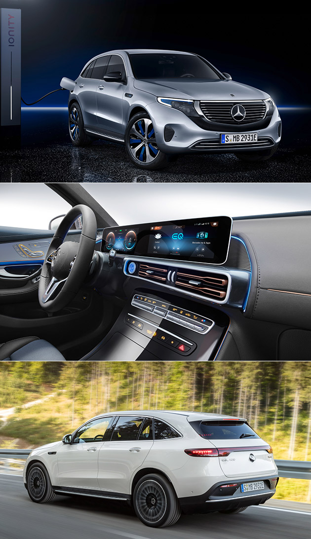 Mercedes EQC Electric SUV