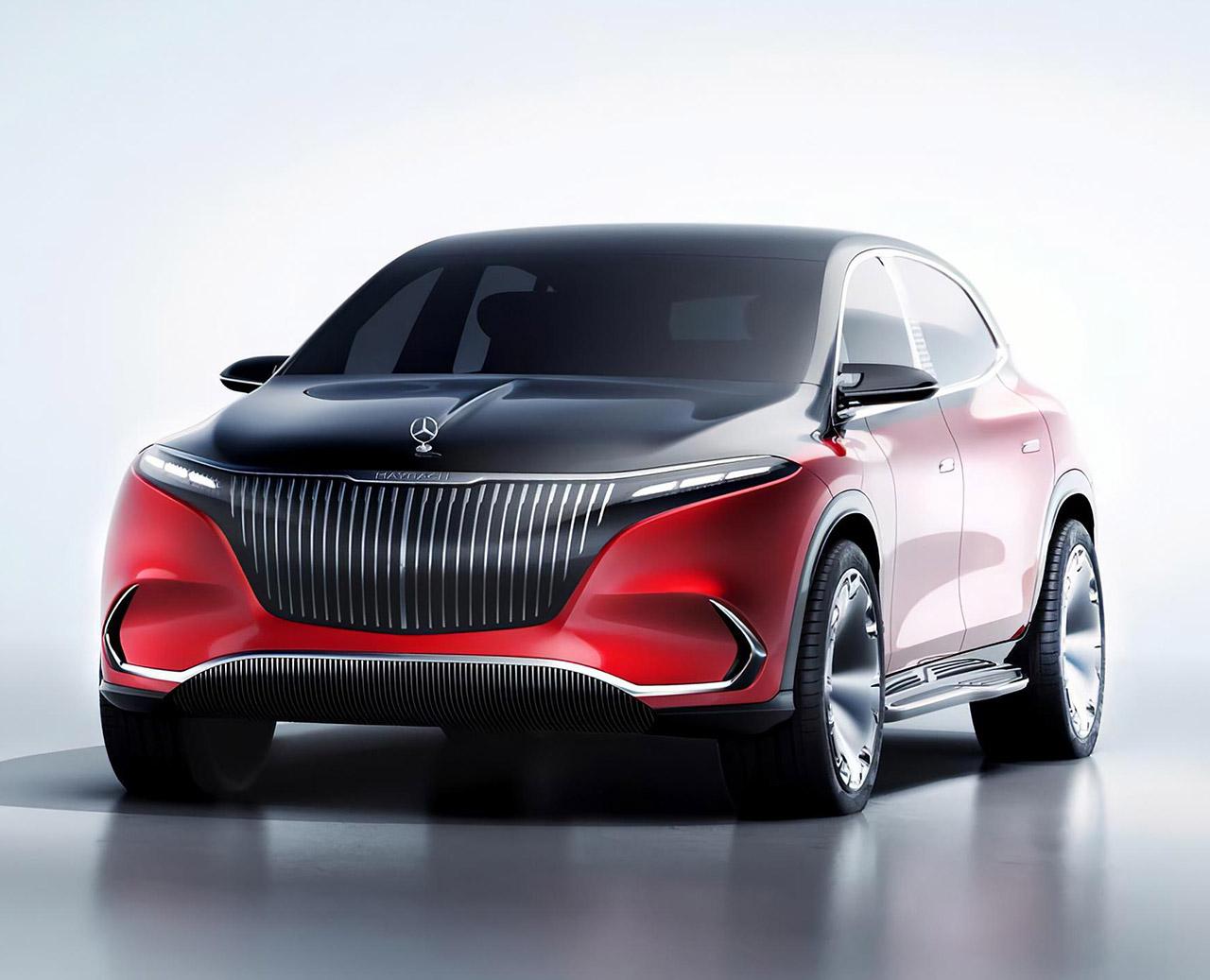 Mercedes-Maybach EQS Electric SUV