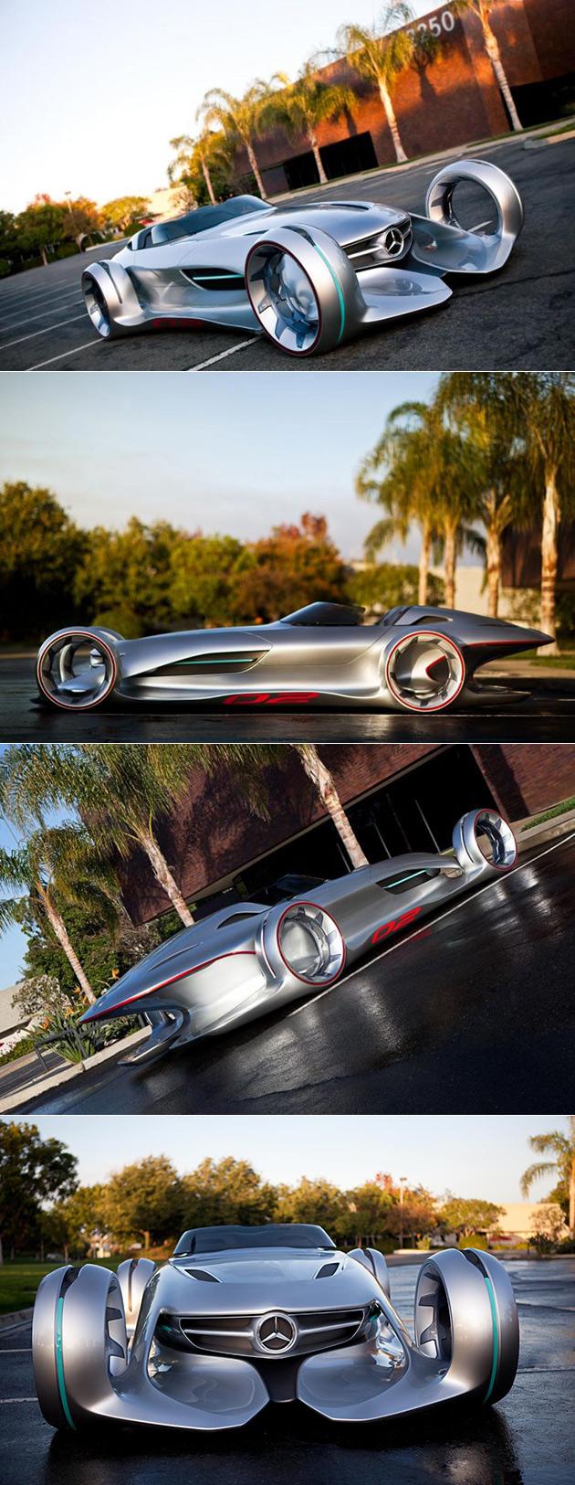 Mercedes Silver Lightning