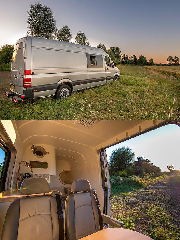 Mercedes Sprinter Van Home