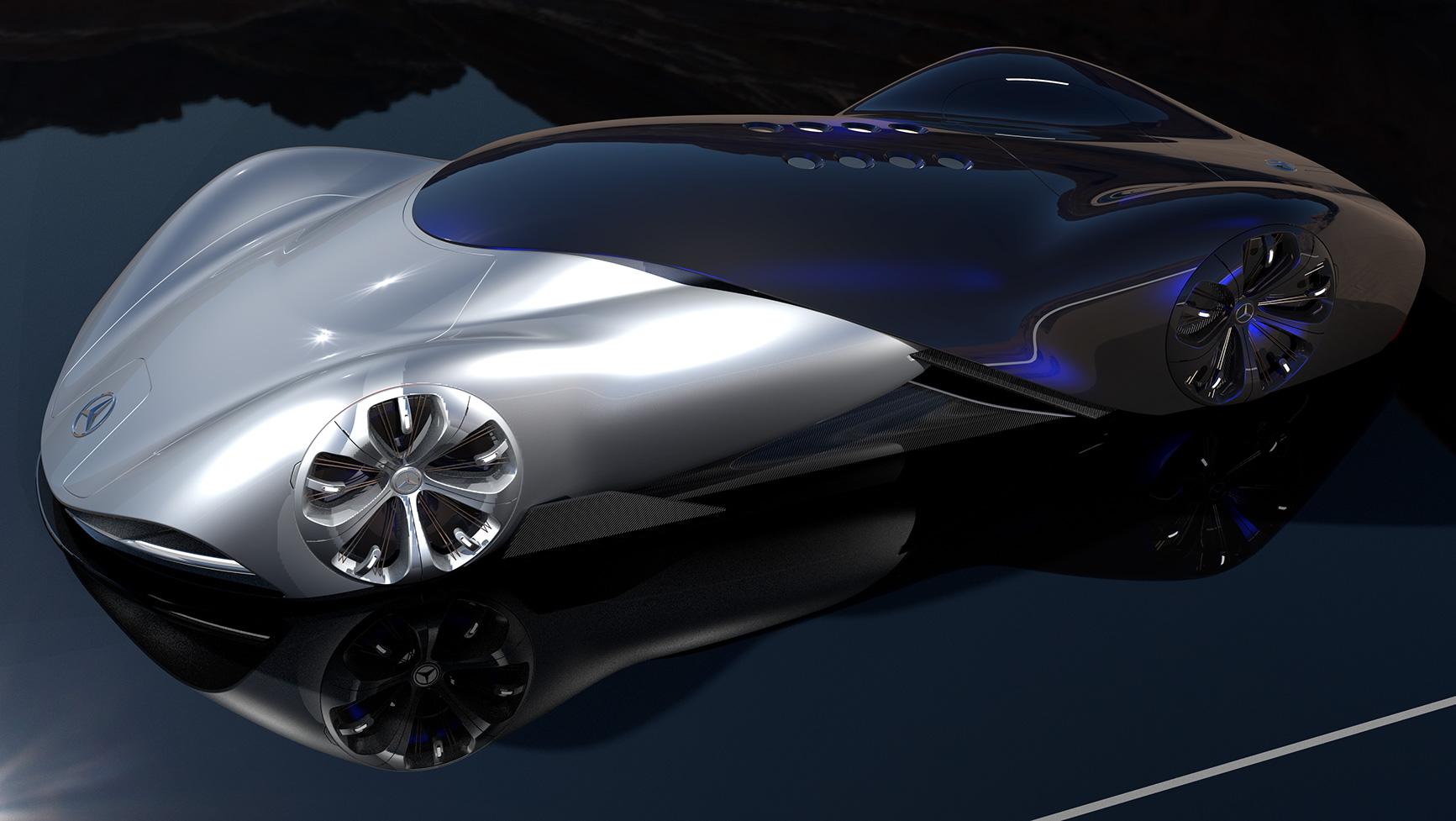 Mercedes Vision Mantilla