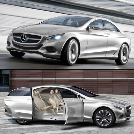 Not to be outdone by Porsche, Mercedes-Benz has unveiled the F 800,
