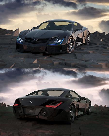 Ultra Sleek Mercedes Benz Sf1 Should Be In The Dark Knight Rising Techeblog