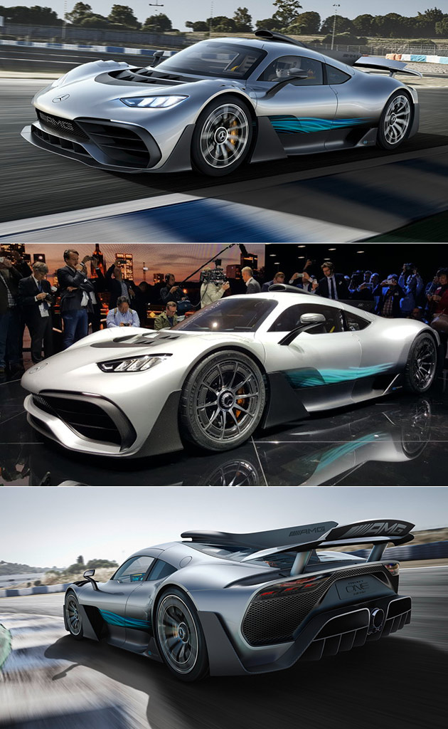 mercedes amg project one hypercar officially unveiled will have over 1 000hp techeblog. Black Bedroom Furniture Sets. Home Design Ideas