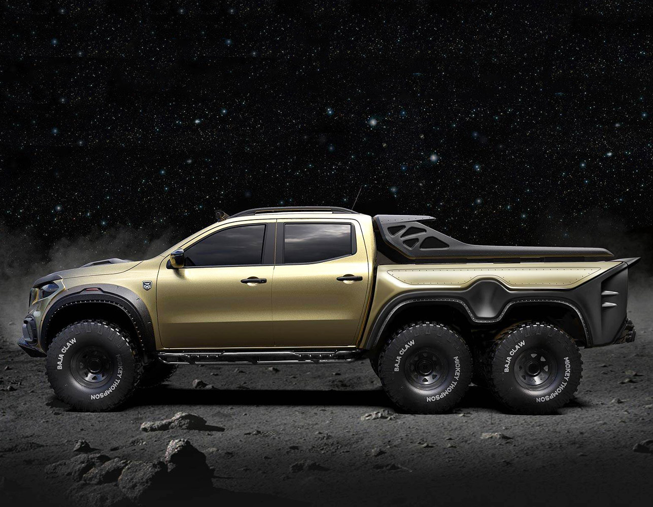 Mercedes-Benz EXY 6x6