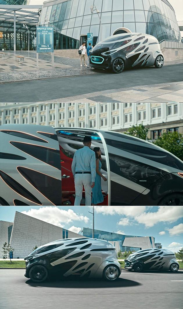 Mercdes Benz Vision URBANETIC