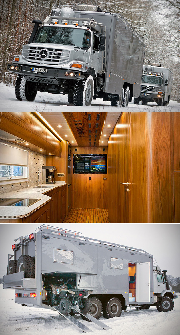 Rare Look Inside the Zombie-Proof Mercedes-Benz Zetros 6x6 ...