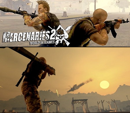 Mercenaries 2 World in