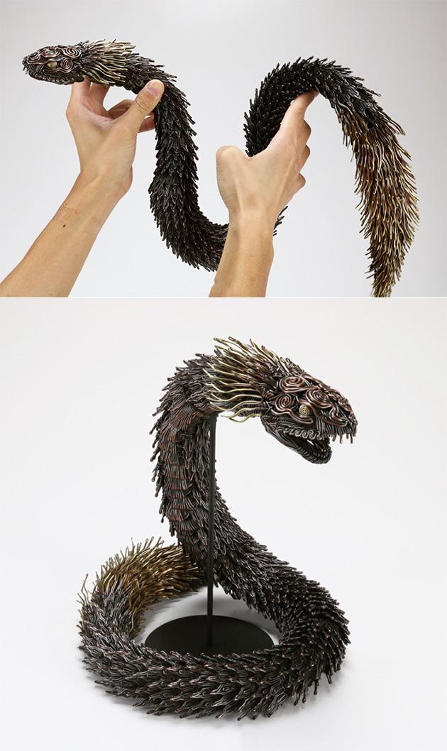 Metal Wire Creatures