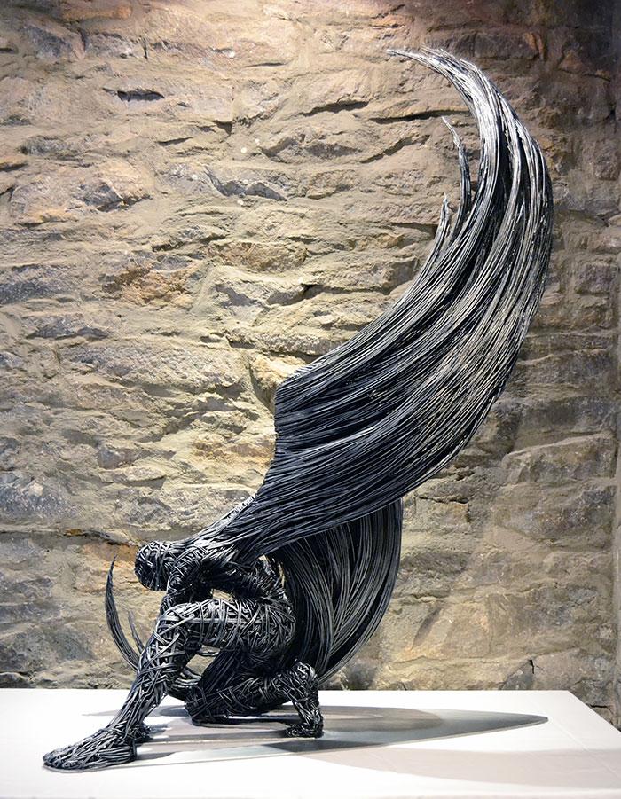 Metal Wire Sculptures