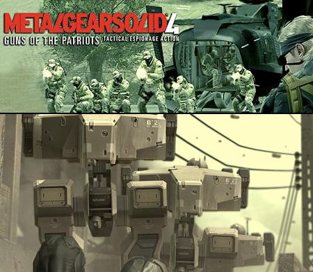 Metal Gear Solid 4 Gameplay