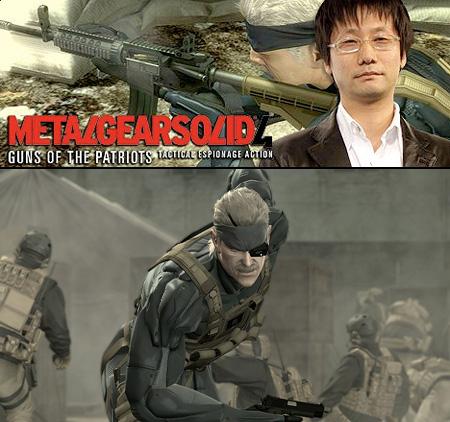 Metal Gear Solid 4 Hideo Kojima