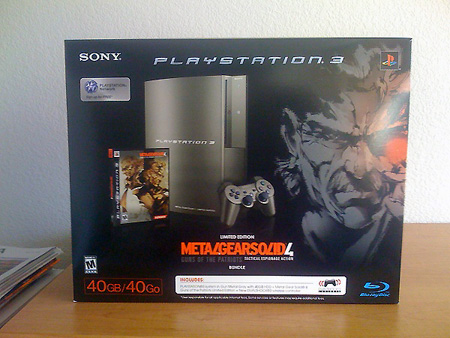 Metal Gear Solid 4 Limited Edition