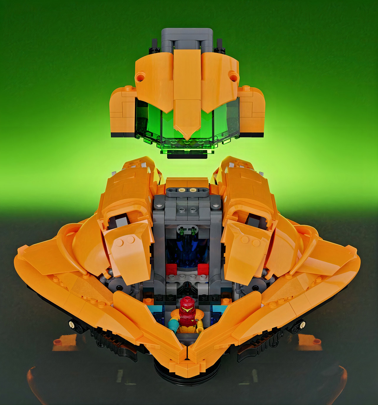 Metroid: Samus Aran's Gunship LEGO Ideas