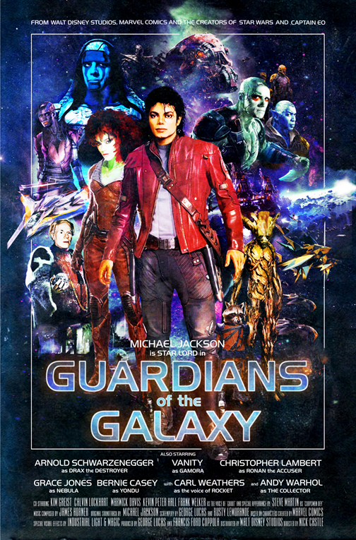 Michael Jackson Guardians of the Galaxy