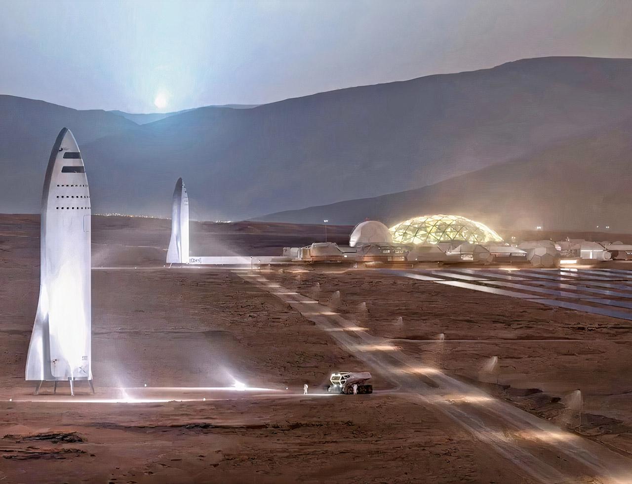 Michio Kaku Elon Musk Mars