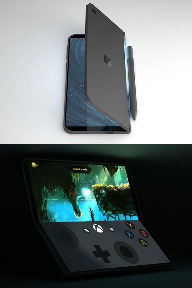 Microsoft Andromedia Dual-Screen