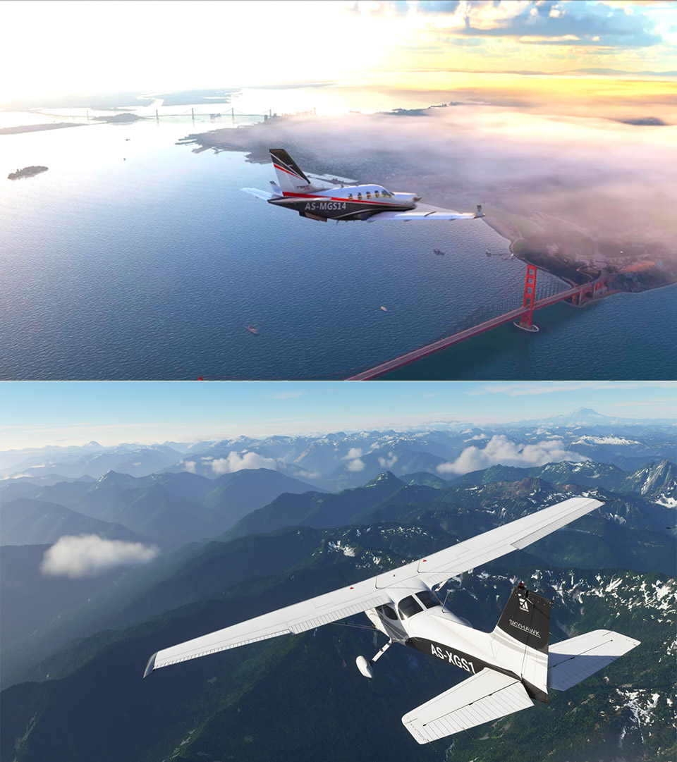 Microsoft Flight Simulator Gameplay