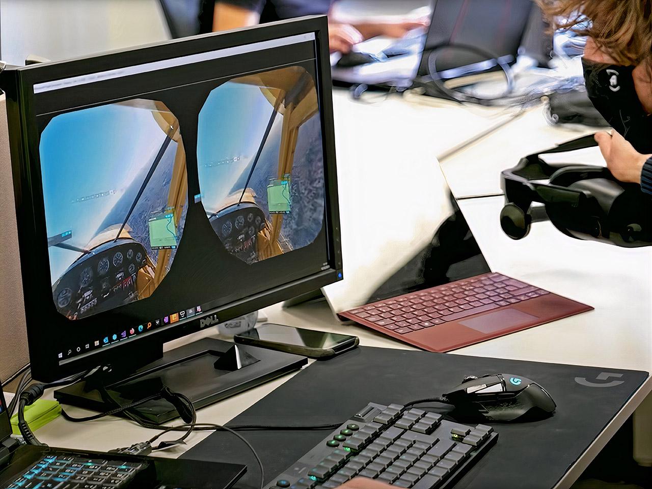 Microsoft Flight Simulator Virtual Reality Headset