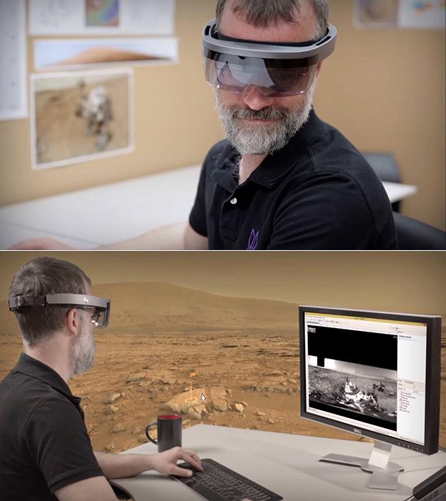 Microsoft HoloLens NASA