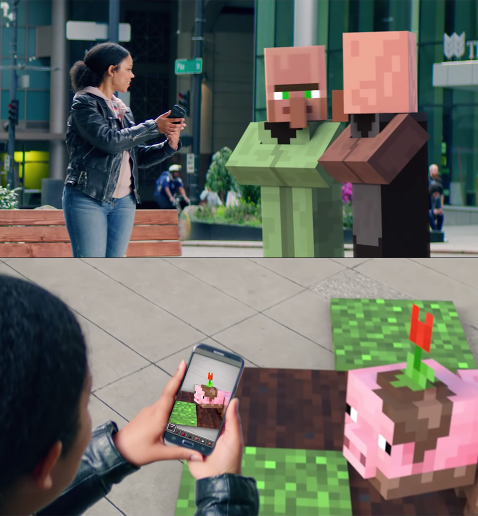 Microsoft Minecraft AR