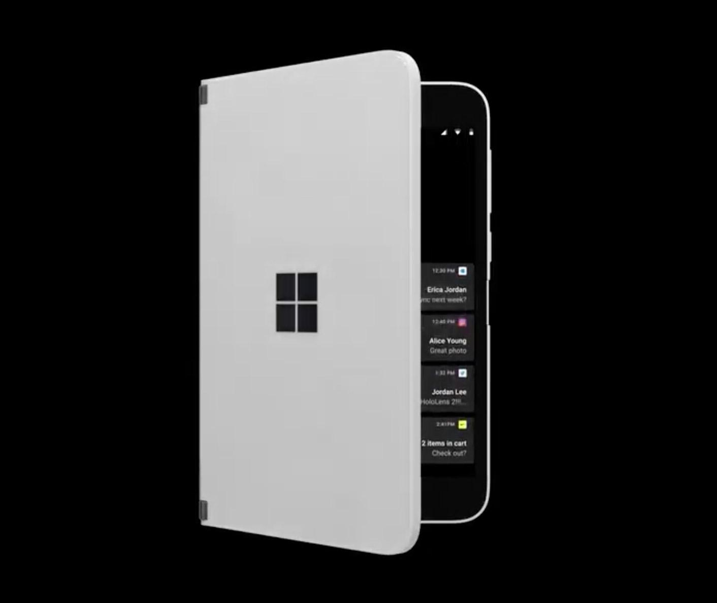 Microsoft Surface Duo Peek